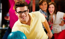 $24.99 for Two Games of Bowling for Four with Shoe Rental and One Large Pizza at Hiline Lanes (Up to $57.91 Value)