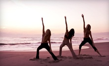 5 or 10 Beach Yoga Classes or One Month of Unlimited Classes at Beach Yoga Pinellas (55% Off)