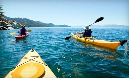 Half-Day Guided Kayak Tour for One, Two, or Four from Lincoln Canoe &amp; Kayak (Up to 62% Off)