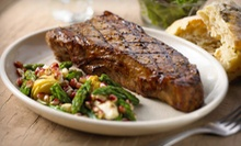 Dinner for Four with Two Hours of Shuttle Service, or $20 for $40 Worth of Surf 'N' Turf at Old Bay Steakhouse