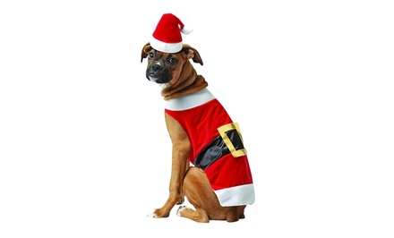 Santa Dog Costume from $14.99–$16.99
