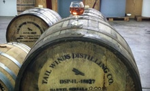 $75 for Two-Hour Rum Workshop with Up to 10 Tastings at Tailwinds Distilling Company ($150 Value)