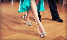 $39 for Two 50-Minute Private Introductory Lessons and One Practice Party at Dance Tonight ($166 Value)
