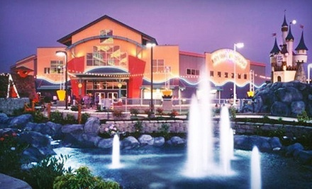 $13 for Rides and Attractions at Family Fun Center & Bullwinkle's Restaurant ($25.99 Value)