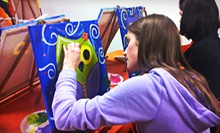 BYOB Group Painting Class for One, Two, or Four at Play! Music and Art (Up to 55% Off)