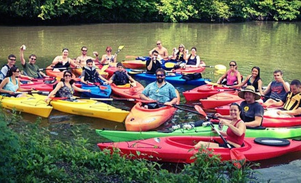 Four-Hour or Full-Day Kayak Rental for Two with Lesson at Stone's Marina Kayak Club (Up to 58% Off)