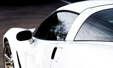 3M Window Tinting on Two or Five Car Windows or a Clear Car Bra at Lynx Customs (Up to 56% Off)
