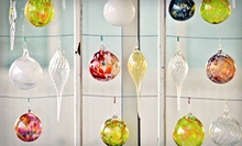 Glass-Blowing Night Out for Two or Party for Up to 12 with Complimentary Wine and Snacks at Janke Studios (52% Off)