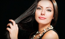 One or Two Keratin Hair-Smoothing Treatments at Alba Salon (Up to 56% Off)