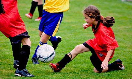 $58 for Nine-Week Coed Youth Arena-Soccer League Registration from Upland Sports Arena ($115 Value)