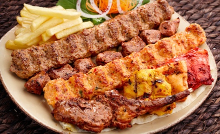 Mediterranean and Persian Food at Ali Baba Restaurant (Half Off). Two Options Available.