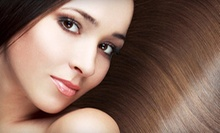 One or Two California Smooth Keratin Treatments at Salon 22 (Up to 77% Off)