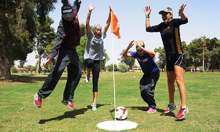 18-Hole Round of FootGolf and Lunch for Two or Four at Shalimar Country Club (Up to 44% Off)