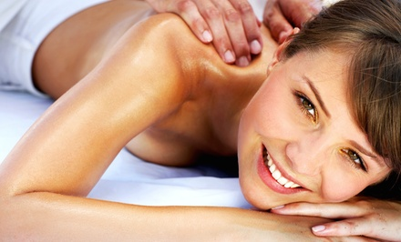 Massages at Advanced Massage (Up to 57% Off). Four Options Available.
