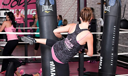 10 or 15 Boxing Fitness Classes at Jabz Boxing Fitness for Women (Up to 81% Off)