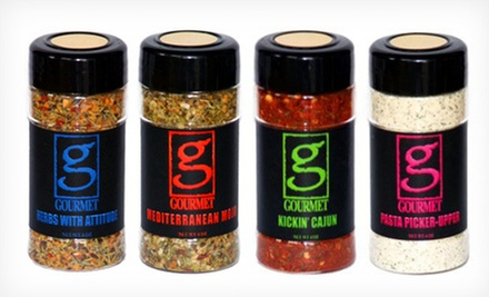 Signature Series Four-Pack of Spices with 12 Free Gourmet Recipes for Pickup or Delivery at The Gourmet Man (52% Off)