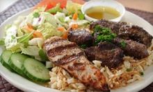 Lebanese Dinner for Two or Four or $20 for $40 Worth of Lebanese Cuisine at Aladdin's Eatery