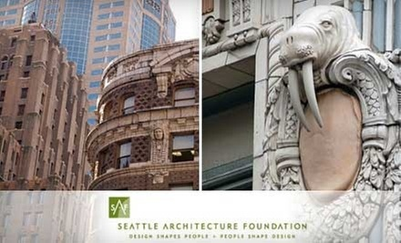 Architectural Walking Tour for One, Two, or Four from Seattle Architecture Foundation (Half Off)
