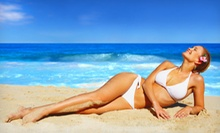 Month of Unlimited Tanning or Custom Airbrush Tan, or Three Custom Airbrush Tans at Tanning Haven (Up to 72% Off)