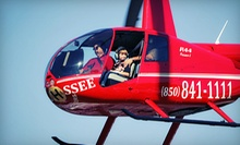 Helicopter Tour for Two or Three or an Extended Introductory Flight Lesson from Tallahassee Helicopters (Half Off)