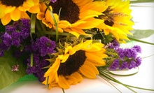 $25 for $50 Worth of Flower Bouquets at A Bloom Depot- Presented by George's Flowers