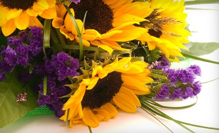 $25 for $50 Worth of Flower Bouquets at A Bloom Depot- Presented by George&#x27;s Flowers