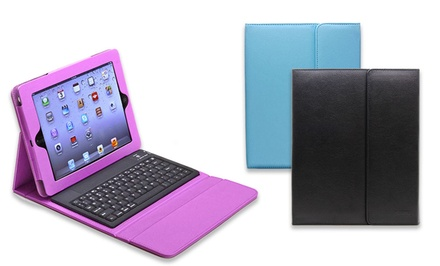 Aduro Liqua-Shield Folio with Bluetooth Keyboard for iPad 2/3/4, Air, or Mini
