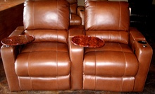 $250 for $500 Toward Custom Home-Theater Chairs at McCabe's Theater & Living