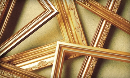 Diploma Framing or Custom Framing at Koch &amp; Company (Up to 61% Off). Two Options Available.