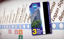 $9 for a 3-Day Pass from the Chicago Transit Authority ($20 Value)