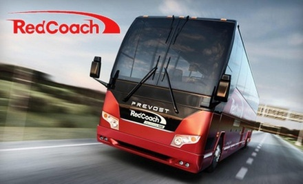 Round-Trip Transportation by Coach Bus Between Miami and Orlando or Miami and Tampa from RedCoach, Inc. (Half Off)