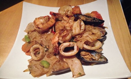 Thai Cuisine for Two or Four at My Thai (Half Off)