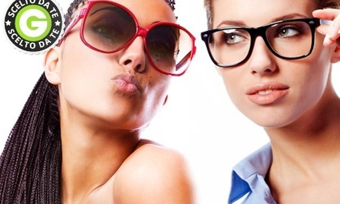 OTTICI GALVANI - OTTICI GALVANI: Uno o 2 occhiali da vista o da sole con lenti e montatura a scelta da 39 € invece di 180