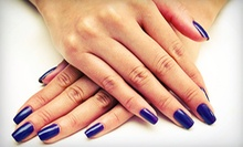 Basic Mani-Pedi, One or Two Gel Manicures, or One Acrylic Nail Set at Nails by Courtney (Up to 55% Off)