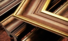 $40 for $100 Toward Custom Framing at Big Picture Framing