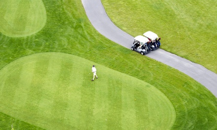 18-Hole Round of Golf for 2 or 4 Including Cart, Hot Dogs, and Beers at Goodrich Country Club (Up to 52% Off)