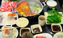 Japanese Meal for Two or Four or $12 for $25 Worth of Japanese Hot-Pot Cuisine at Shabu Restaurant