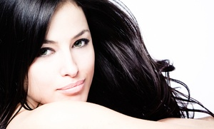 Haircut With Optional Color Or Partial Or Full Highlights At Sonya Salon & Spa (up To 64% Off)