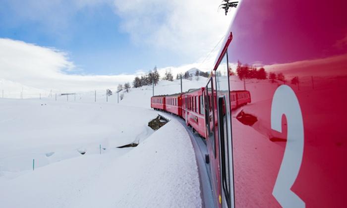 Di Viaggio in Viaggio - Di Viaggio in Viaggio: Trenino Rosso del Bernina - Viaggio a/r in autobus a Tirano e traversata del Bernina fino a St. Moritz da 49 € a persona