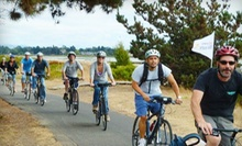 Five-Hour Winery Bike Tour for One, Two, or Four from East Bay Winery Bike Tours (Up to 52% Off)