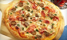 Specialty Pizza with Appetizer at Brixx Wood Fired Pizza (Up to 57% Off). Two Options Available.
