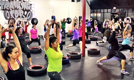 One Month of Unlimited Fitness Classes for One or Two at AmenZone Fitness (Up to 70% Off)