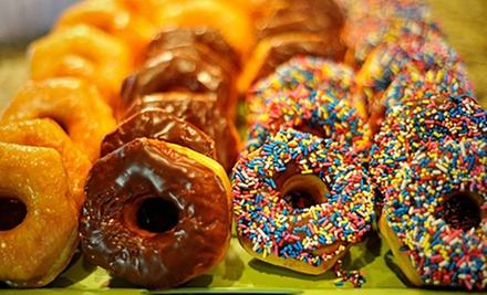One-, Two-, or Four-Dozen Donuts and Bagels at Donuts, Yogurt & More (Up to 62% Off)