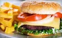 Diner Food at Mission Caf (Up to 53% Off). Two Options Available.