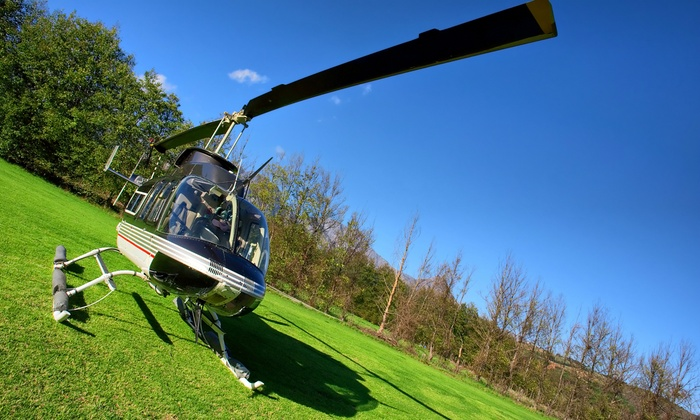 Adventure 001 - Multiple Locations: Six-Mile Helicopter Buzz Flight from £34 with Adventure 001