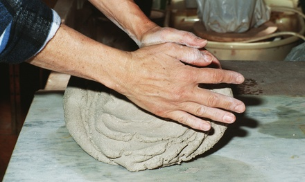 Clay with Me Pottery Class for One or Two Pottery Classes at Coffee and Canvas (Up to 53% Off)