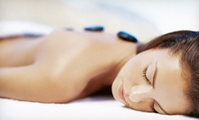 60-Minute Hot-Stone Massage with Organic Pedicure or Express Facial at Spa on the Boulevard (52% Off)