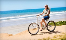One- or Two-Hour Bike Rental from River Front Kayaks (Up to 55% Off)
