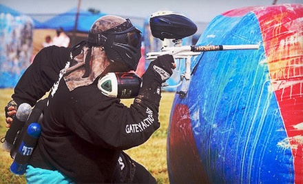 Paintball Package with Gear Rental for Two, Four, or Six at Red Leg Action Sports (Up to 61% Off)