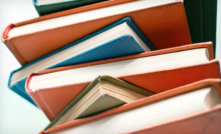 $12 for $25 Worth of Used Books and Greeting Cards at Annie&#x27;s Book Stop of Worcester